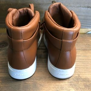 Coach Shoes - Coach Richmond Wedge Boot 7 B Nappa Leather